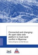 Connected and changing: An open data web platform to track land conflict in Myanmar