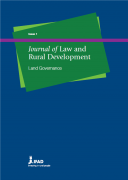 Journal of Law and  Rural Development : Land Governance