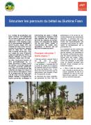 Sécuriser les parcours du bétail au Burkina Faso