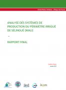 Analyse des systèmes de production du périmètre irrigué de Sélingué (Mali)