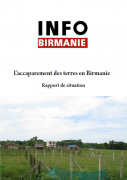 L'accaparement des terres en Birmanie
