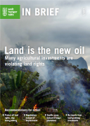 Land is the new oil