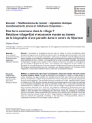 Une terre commune dans le village ? Relations village-État et économie morale au travers de la biographie d'une parcelle dans le centre du Myanmar