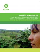 Radiografia de la desigualdad : Lo que nos dice el último censo agropecuario sobre la distribución de tierra en Colombia