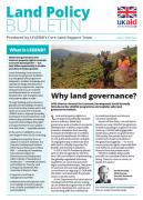 Nouveau bulletin d'information : Land Policy Bulletin (DFID)