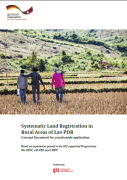 Systematic Land Registration in Rural Areas of Lao PDR