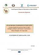 Gestion durable des parcours dans le Sahel : stratégies, pratiques, gouvernance et promotion