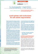 Summary paper n°27 : Land systems and mechanisms for soil carbon sequestration