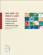 Who owns the world's land? A global baseline of formally recognized indigenious and community land rights