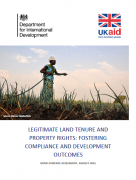 Legitimate land tenure and property rights: fostering compliance and development outcomes