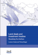 Land deals and investment treaties : Visualising the interface