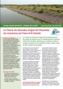 La Charte du domaine irrigué de l'Anambé : un consensus sur l'eau et le foncier