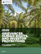 Grievances, human rights and investors protection