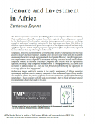 Tenure and Investment in Africa
