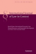 Property in a shrinking planet: fault lines in international human rights and investment law