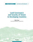 Land Governance and Security of Tenure in Developing Countries – White Paper