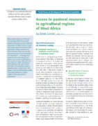 Briefing Note : Access to pastoral resources in agricultural regions of West Africa