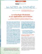 Note de synthèse n°31 : La technologie blockchain et ses applications sur le foncier.