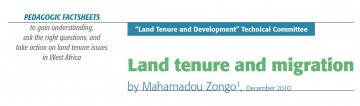 Land tenure and migration