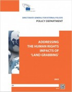 """Les impacts du """"land grabbing"""" sur les droits de l'homme"""
