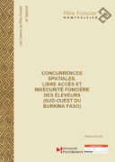 Concurrences spatiales, libre accès et insécurité foncière des éleveurs (sud-ouest du Burkina Faso)