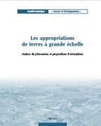 Les appropriations de terres à grande échelle : analyse du phénomène et propositions d'orientations