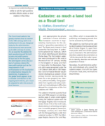 Cadastre: as much a land tool as a fiscal tool