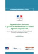 Appropriations de terres à grande échelle et investissement agricole responsable
