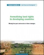Formalising land rights in developing countries