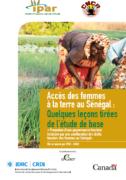 Accès des femmes à la terre au Sénégal