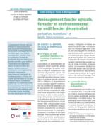 Aménagement foncier agricole, forestier et environnemental : un outil foncier décentralisé