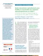 Fiche pédagogique : Quels mécanismes opérationnels pour faciliter la sécurisation de communs agrosylvopastoraux au Sahel?