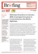 Guinée : réformes foncières, défis et perspectives pour la reconnaissance des droits légitimes