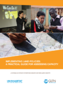 Implementing Land Policies: A Practical Guide for Assessing Capacity