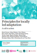 Principles for locally led adaptation : a call to action