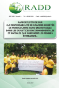Cameroun : Rapport sur les plantations agro-industrielles et droits fonciers des femmes